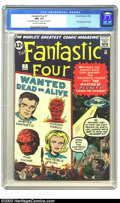 Silver Age (1956-1969):Superhero, Fantastic Four #7 (Marvel, 1962) CGC NM- 9.2 Off-white to white pages. You'll be amazed at the sharp corners, smooth edges a...