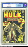Silver Age (1956-1969):Superhero, The Incredible Hulk #1 (Marvel, 1962) CGC GD 2.0 Off-white to white pages. Would Marvel have had such an instant impact upon...