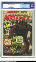 Silver Age (1956-1969):Horror, Journey into Mystery #60 (Marvel, 1960) CGC FN 6.0 Off-white pages.The best thing about the Marvel pre-hero books is the ar...