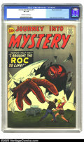 Silver Age (1956-1969):Horror, Journey into Mystery #71 (Marvel, 1961) CGC VF 8.0 Off-white towhite pages. This pre-hero Marvel is filled with the mastery...