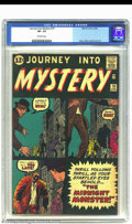 Silver Age (1956-1969):Horror, Journey into Mystery #79 (Marvel, 1962) CGC VF- 7.5 Off-whitepages. Here we have yet another prototype issue. Marvel tried ...