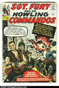 Sgt. Fury and His Howling Commandos, Complete Run (Marvel, 1963). Wow, here is a really impressive group lot - a complet...