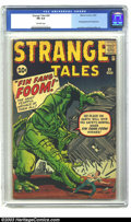 Silver Age (1956-1969):Adventure, Strange Tales #89 (Marvel, 1961) CGC FN 6.0 Off-white pages. Jack Kirby draws one of the all time classic Marvel monster iss...