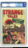 Silver Age (1956-1969):Horror, Strange Tales #97 (Marvel, 1962) CGC VF 8.0 Off-white pages. Alarge moon rises above the remnants of a destroyed city heral...