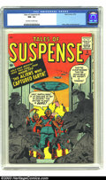 Silver Age (1956-1969):Science Fiction, Tales of Suspense #3 (Marvel, 1959) CGC NM- 9.2 Off-white to whitepages. The aliens have landed and there is no hope! Or so...