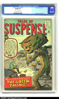 Silver Age (1956-1969):Science Fiction, Tales of Suspense #19 (Marvel, 1961) CGC VF/NM 9.0 Cream tooff-white pages. Giant weeds run amuck after a scientist injects...