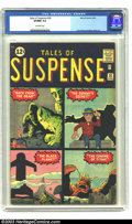 Silver Age (1956-1969):Science Fiction, Tales of Suspense #28 (Marvel, 1962) CGC VF/NM 9.0 Off-white pages.This is the prototype issue for the Stone Men (who would...