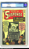 Silver Age (1956-1969):Mystery, Tales of Suspense #35 (Marvel, 1962) CGC VF- 7.5 Off-white to whitepages. A giant monitor shows an alien wanting one earthl...