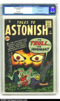 "Silver Age (1956-1969):Science Fiction, Tales to Astonish #21 (Marvel, 1961) CGC VF 8.0 Off-white pages.Hidden behind a cover touting Trull the Inhuman - ""The Most..."