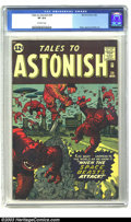 Silver Age (1956-1969):Science Fiction, Tales to Astonish #29 (Marvel, 1962) CGC VF 8.0 Off-white pages. Amassive horde of aliens have invaded Earth and taken cont...