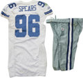 Football Collectibles:Uniforms, 2006 Marcus Spears Game Worn Jersey with Pants. Productive first round pick Marcus Spears has made ample contributions to t...
