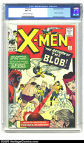 Silver Age (1956-1969):Superhero, X-Men #7 (Marvel, 1964) CGC NM 9.4 Off-white to white pages. Thisis the issue in which Professor X appoints Cyclops as the ...