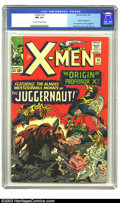 Silver Age (1956-1969):Superhero, X-Men #12 (Marvel, 1965) CGC NM 9.4 Off-white to white pages. Withthe origin of Professor X and a Jack Kirby cover with Ale...