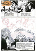 Original Comic Art:Comic Strip Art, Hal Foster - Original Comic Strip Art for Prince Valiant Sunday,dated 12-21-52 (King Features Syndicate, 1952). A truly bre...