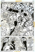 Original Comic Art:Splash Pages, Ross Andru and Joe Sinnott - Original Art for Fantastic Four #131,page 31 (Marvel, 1973). Two foolhardy interlopers, Johnny...