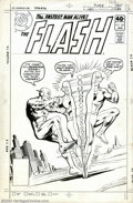 Original Comic Art:Covers, Ross Andru and Dick Giordano - Original Cover Art for The Flash#281 (DC, 1980). It's the Flash versus the Reverse-Flash in ...