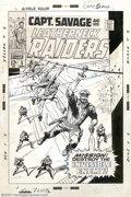 Original Comic Art:Covers, Dick Ayers and Syd Shores - Original Cover Art for Captain Savageand His Leatherneck Raiders #5 (Marvel, 1968). Sgt. Fury w...