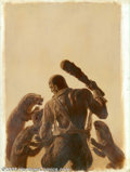 Original Comic Art:Covers, James Bama - Original Cover Painting for Doc Savage: The OtherWorld (Bantam, 1968). When Bantam Books acquired the rights t...