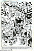 Original Comic Art:Splash Pages, Rich Buckler and Bob Smith - Original Art for Tales of the TeenTitans #51, page 1 (DC, 1983)....