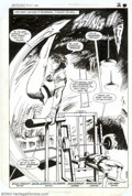 Original Comic Art:Splash Pages, Gene Colan, Bob Smith and Ricardo Villagran - Original Art forDetective Comics #561, page 2 (DC, 1986). Batman and Robin ge...