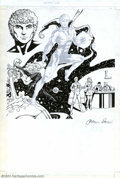 Original Comic Art:Splash Pages, Colleen Doran and Karl Kesel - Original Art for DC's Who's Who #7(DC, 1985). The highly-acclaimed artist of A Distant Soi...