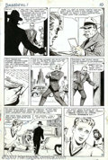 Original Comic Art:Panel Pages, Bill Everett - Original Art for Daredevil #1, pages 8 and 9(Marvel, 1964). Though best known for his work on Sub-Mariner, B...