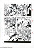 """Original Comic Art:Panel Pages, Carmine Infantino and Murphy Anderson - Original Art for """"TheCatwoman's Catnapping Caper,"""" Page 3 (DC, 1966). With Batmania..."""