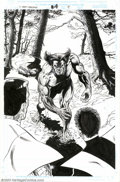 Original Comic Art:Splash Pages, Phil Jimenez and John Stokes - Original Art for X-Men: Liberators#4, page 4 (Marvel, 1999). Here is a great image of a very...