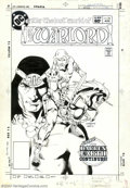 Original Comic Art:Covers, Dan Jurgens and Tod Smith - Original Cover Art for Warlord #72 (DC,1983). Originally created by superstar Mike Grell, War...