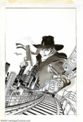 Original Comic Art:Covers, Mike Kaluta - Original Cover Art for The Shadow #1 (DC, 1973). Thecover art to Shadow #1 is arguably Michael Kaluta's f...
