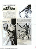 """Original Comic Art:Complete Story, Gil Kane - Production Art for The Savage Sword of Conan #3,Complete 14-page Story, """"The Testing of Blackmark"""" (Marvel,1974)...."""