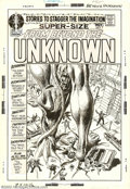 Original Comic Art:Covers, Joe Kubert - Original Cover Art for From Beyond the Unknown #7 (DC,197O). This astounding cover from 1970 was penciled and ...