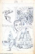 Original Comic Art:Splash Pages, Larry Lieber - Original Art for Amazing Spider-Man Annual #5(Marvel, 1968). This is actually a finished preliminary image l...