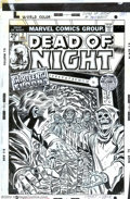 Original Comic Art:Covers, Larry Lieber - Original Cover Art for Dead of Night #7 (Marvel,1974). The age of bone-chilling horror covers didn't end wit...