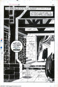 Original Comic Art:Splash Pages, Larry Lieber - Original Art for Marvel Super-Heroes #20, page 24(Marvel, ). This brooding, final page from the first solo D...
