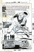 Original Comic Art:Covers, Larry Lieber - Original Cover Art for Rawhide Kid #66 (Marvel,1968). This is an outstanding western cover that's penciled, ...