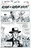 Original Comic Art:Splash Pages, Larry Lieber - Original Art for Two-Gun Kid #71, story page 1(Marvel, 1964). A nice splash page featuring bad men in the wi...