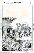 Original Comic Art:Covers, Larry Lieber - Original Cover Art for Western Action #1 (Atlas,1975). Larry Lieber wrangles both the story and the cover ar...