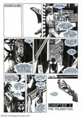 Original Comic Art:Panel Pages, David Lloyd - Original Art for V for Vendetta #9, page 9 (DC, 1989). The first two parts of Alan Moore's influential book, ...