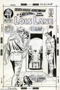 Original Comic Art:Covers, Curt Swan and Murphy Anderson - Original Cover Art for Superman'sGirl Friend Lois Lane #105 (DC, 1970). Lois is married... ...