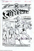 Original Comic Art:Covers, Curt Swan and Bob Oskner - Original Cover Art for Superman #292(DC, 1975). Superman has been rendered by many great artists...