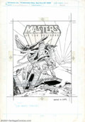 "Original Comic Art:Complete Story, Mark Texeira and Tod Smith - Original Art for Masters of theUniverse Mini-Comic, Cover and Complete 15-page Story ""The Magic..."