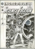 Original Comic Art:Covers, Wally Wood - Original Cover Art for Incredible Science Fiction #33(EC, 1956). If one were asked to sum up this cover in one...