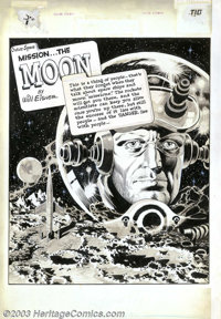 Wally Wood - Original Art for The Spirit Sunday Supplement, page 1 (Will Eisner Productions, 1952). After a legendary st...