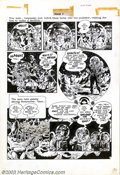 Original Comic Art:Panel Pages, Wally Wood - Original Art for The Spirit Sunday Supplement, page 7(Will Eisner Productions, 1952). In an effort to inject a...