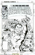 Original Comic Art:Covers, Mike Zeck and John Beatty - Original Cover Art for Marvel SuperHeroes Secret Wars #12 (Marvel, 1985). In this final issue o...