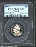 Proof Jefferson Nickels: , 1979-S Type Two PR 69 Deep Cameo PCGS. ...