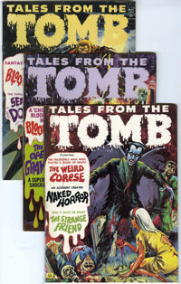 Tales From the Tomb and Others Group (Eerie Publications, 1970-73) Condition: Average FN.... (Total: 27)