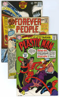 Bronze Age (1970-1979):Miscellaneous, DC Silver and Bronze Age First Issues Group (DC, 1966-73).Seven-issue lot of DC first issues includes Plastic Man #1 (f... (7Comic Books)