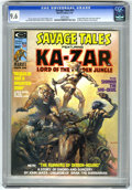Magazines:Superhero, Savage Tales #10 (Marvel, 1975) CGC NM+ 9.6 White pages. BorisVallejo cover. Ka-Zar story with Russ Heath art, inked by Nea...